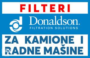 DONALDSON FILTERI ULJA-FILTERI ZRAKA-FILTERI GORIVA