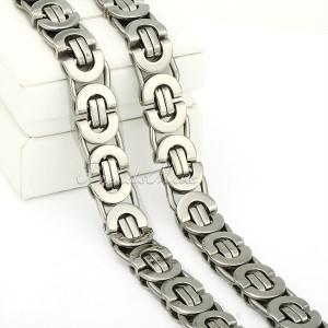 RASPRODAJA- Kraljevski lanac ogrlica Hir.Celik