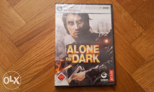PC orginal igra Alone in the Dark (novo u celofanu)