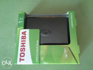 Toshiba 1tb 3.0 usb hard drive