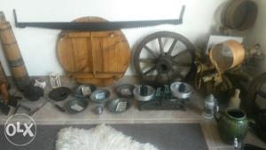 Starine antikviteti bakarno posudje