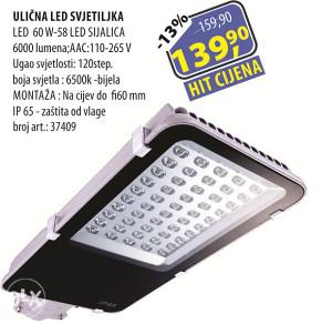 ULIČNA LED SVJETILJKA LED 60 W-58 LED SIJALICA