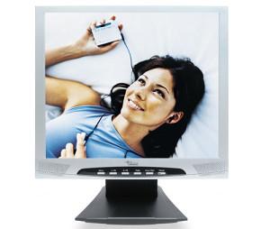 Fujitsu siemens lcd monitor 17 boja siva