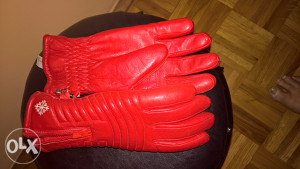 Kozne ženske rukavice S/M