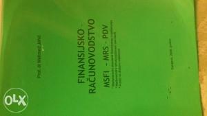 Knjiga Finansijsko racunovodstvo MRS MSFI PDV
