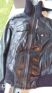 STRADIVARIUS ženska kožna jakna