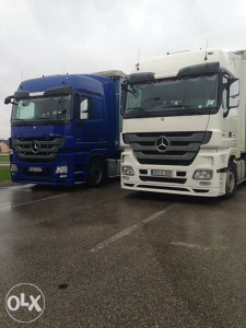 Mercedes Benz Actros 2010 god EEV