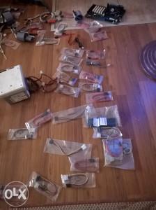 Maticne ploce  wifi kartice i razni kablovi