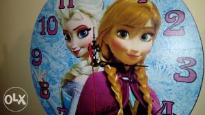 Sat zidni za djevojcice. Frozen
