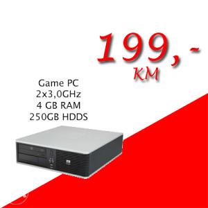 HP 7900 SFF QuadCore 4x2,4GHz/ 4GB RAM/ 250 GB HDD