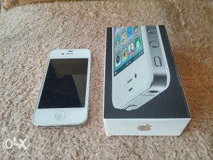 Iphone 4 16GB Sim Free - Full paket