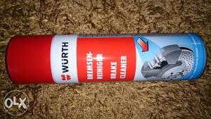 Würth sprej za čišćenje kočnica(500ml)