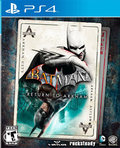 Batman Return to Arkham PS4 + Poklon Igra