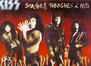 KISS-SMASHES,THRASHES AND HITS lp