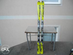 Skije Fischer 180cm