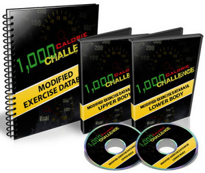 1000 Calorie Challenge Workout-3DVD