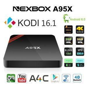 A95X Android Smart TV Box KODI S905X 2GB RAM 8GB ROM