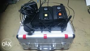 DUAL resiver, 2 transimitera i mikrofon C20  AKG