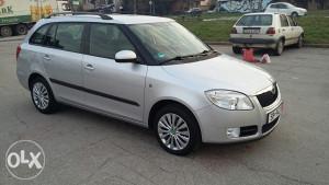 Škoda Fabia 1,9 TDI Combi SPORT