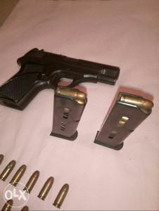 Pistolj 7.65 sa papirima +27 metaka-jako malo korišten