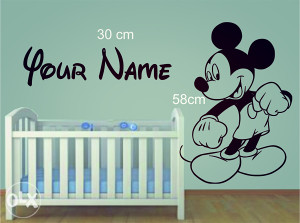 Naljepnica za zid Mickey Mouse