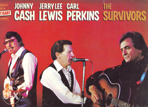 J.CASH, J.L.LEWIS, C.PERKINS - THE SURVIVORS lp