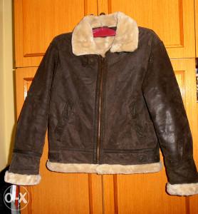 Kožna jakna zimska