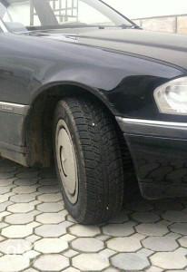 Felge Mercedes 5x112 gume zimske+ratkape