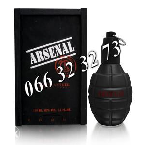 Gilles Cantuel Arsenal Black 100ml EDP ... M 100 ml