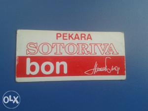 BON ........Pekara SOTORIVA