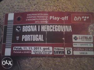 BIH-PORTUGAL 11.11.2011