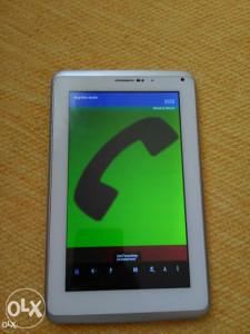 "7"" SIM Slot DualCore 3G tablet telefon"