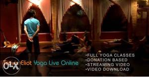 Yoga Live Online with Travis Eliot-2DVD