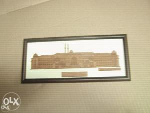 Slika džamije uramljena