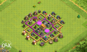 Clash of Clans acc th 6 max