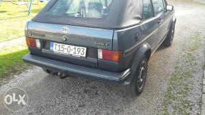 Golf mk1 cabrio gti karmann