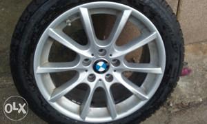 BMW F10. felge 18 ke s gumam
