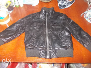 Kožna jakna za dječake VEL.104