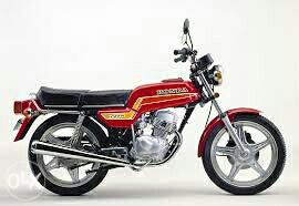 Honda CB 125 t2 za dijelova sa urednim papirima