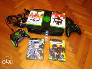 Xbox Classic + igre