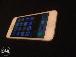 iPhone 5 Silver KAO NOV