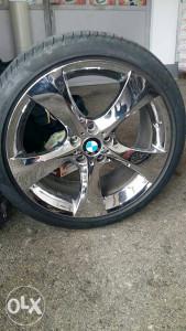 Felge sa gumama kromirane BMW X4 sve 4