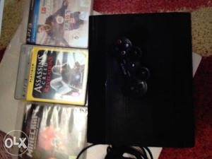 PS3 Slim 500gb controler 3 igre