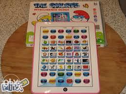 Edukativni tablet za djecu Strumfovi