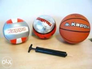 4 sportske lopte(Kappa)