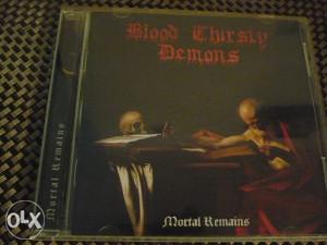 Blood thirsty demons cd