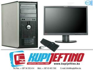 """Dell 780 C2Q 2.66,4GB, 160GB,R7 240+Monitor 22"""""""