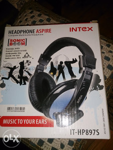 Gaming slusalice Intex sa mikrofonom-nove