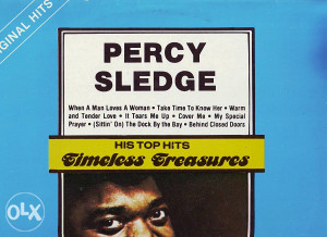PERCY SLEDGE-HIS TOP HITS lp