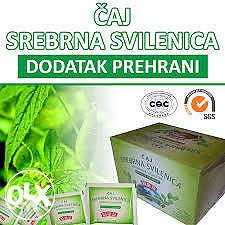 Čaj za liječenje dijabetesa Srebrena svilenica